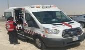 الهلال الأحمر يباشر 743 بلاغًا إسعافيًا أثناء موجة الغبار بالشرقية