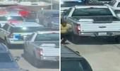 بالفيديو.. متهم يهرب من داخل دورية الشرطة بإحدى مناطق الكويت