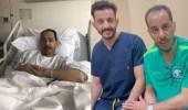 فيديو.. أول ظهور لصالح النعيمة بعد إجراء العملية الجراحية