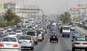 """حادث انقلاب """"تريلا"""" يوقف الحركة المرورية على الدائري الشرقي الثاني بالرياض"""