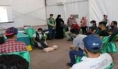 بالصور.. مركز الملك سلمان للإغاثة يدشن الحملة التطوعية الخامسة في مخيم الزعتري بالأردن