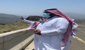 بالصور.. محافظ العيدابي يقوم بجولة تفقدية للخدمات والمشاريع البلدية بالمحافظة ومراكزها