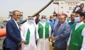 وصول الدفعة الثانية من منحة المشتقات النفطية السعودية إلى محافظة حضرموت