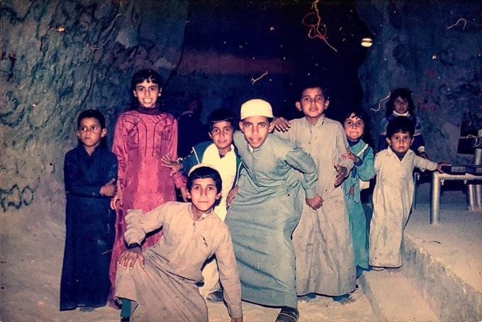أطفال في الأحساء عام 1984