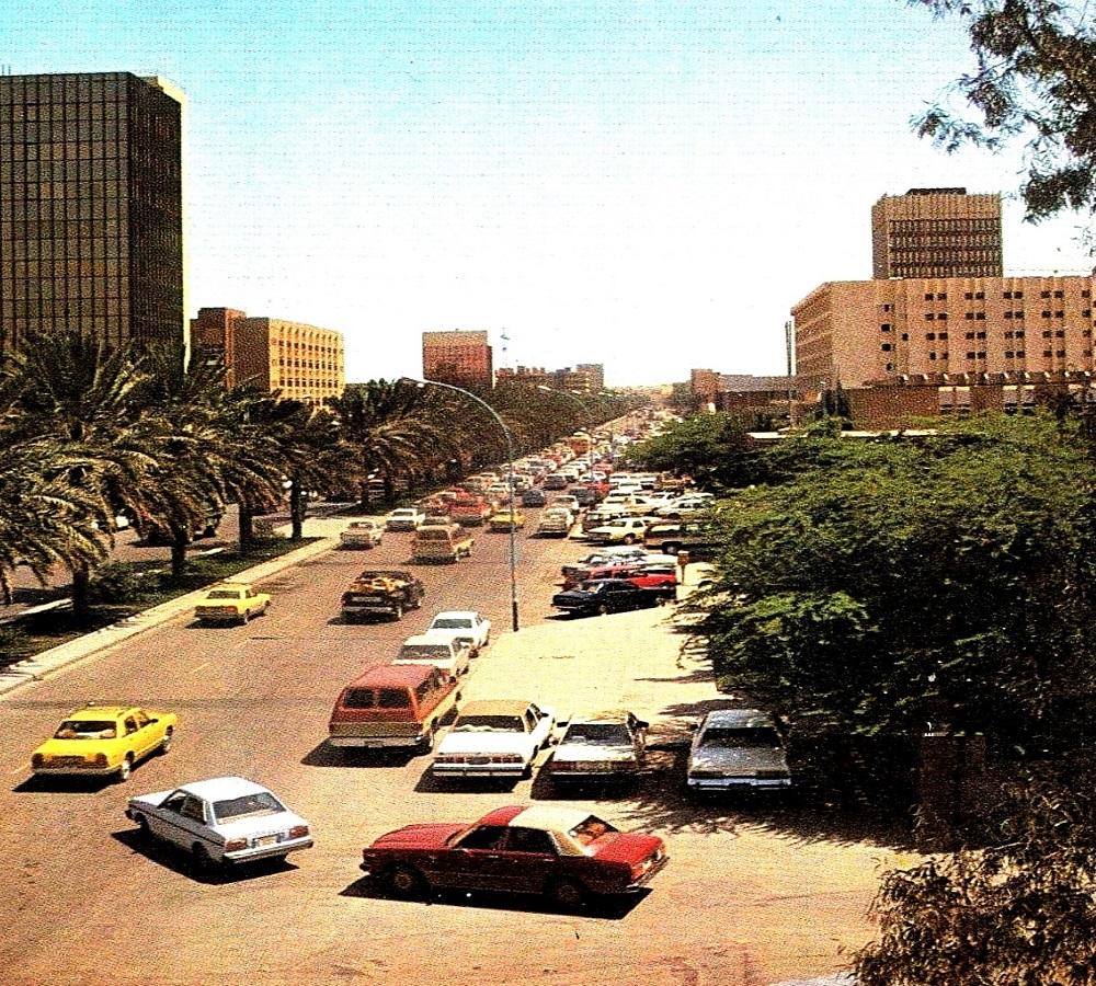 لقطة من أجواء الرياض قبل 40 عام تقريباً