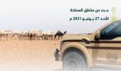 """""""الأمن البيئي"""" يوقف 64 مخالفًا لنظام البيئة لارتكابهم مخالفات رعي"""