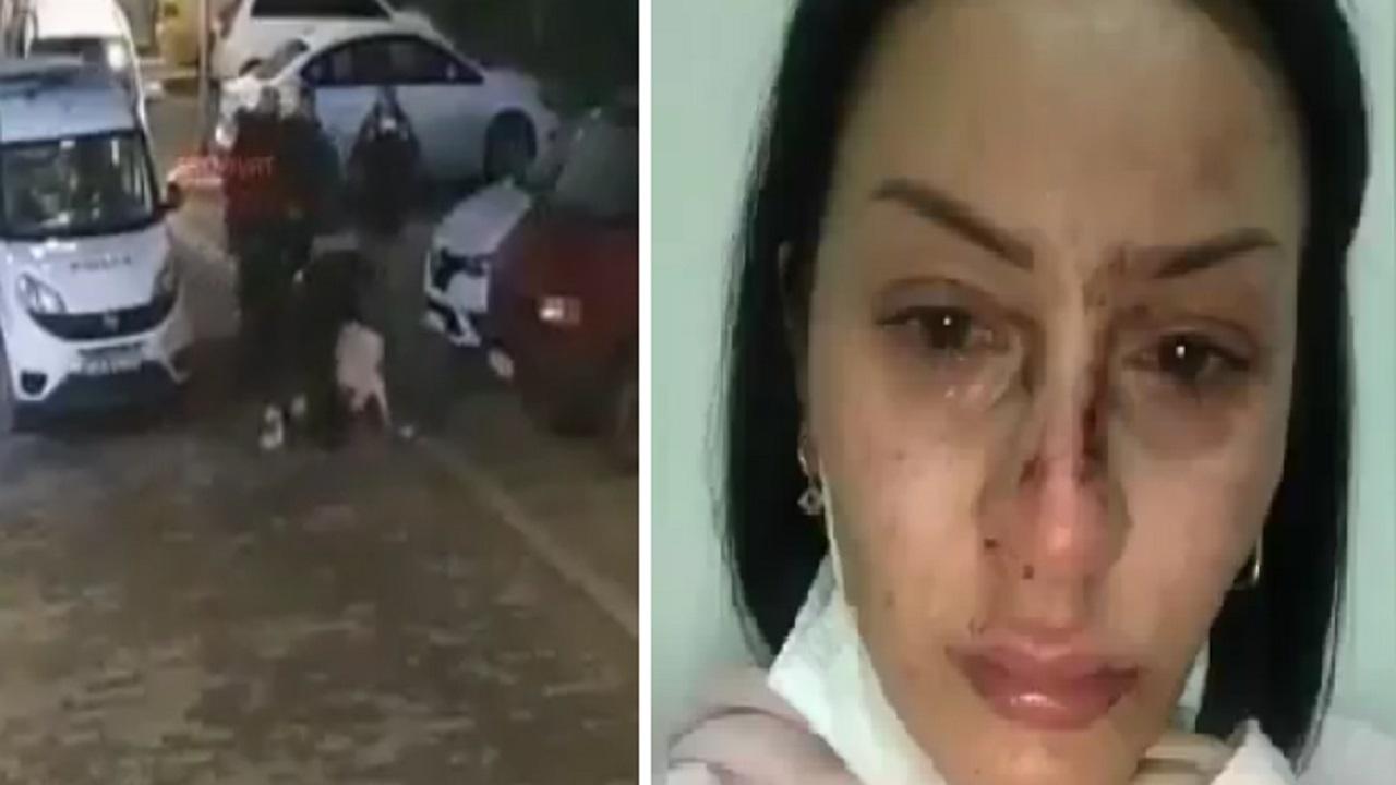 بالفيديو .. ضباط أتراك يعتدون بوحشية علي امرأة بأحد شوارع إسطنبول