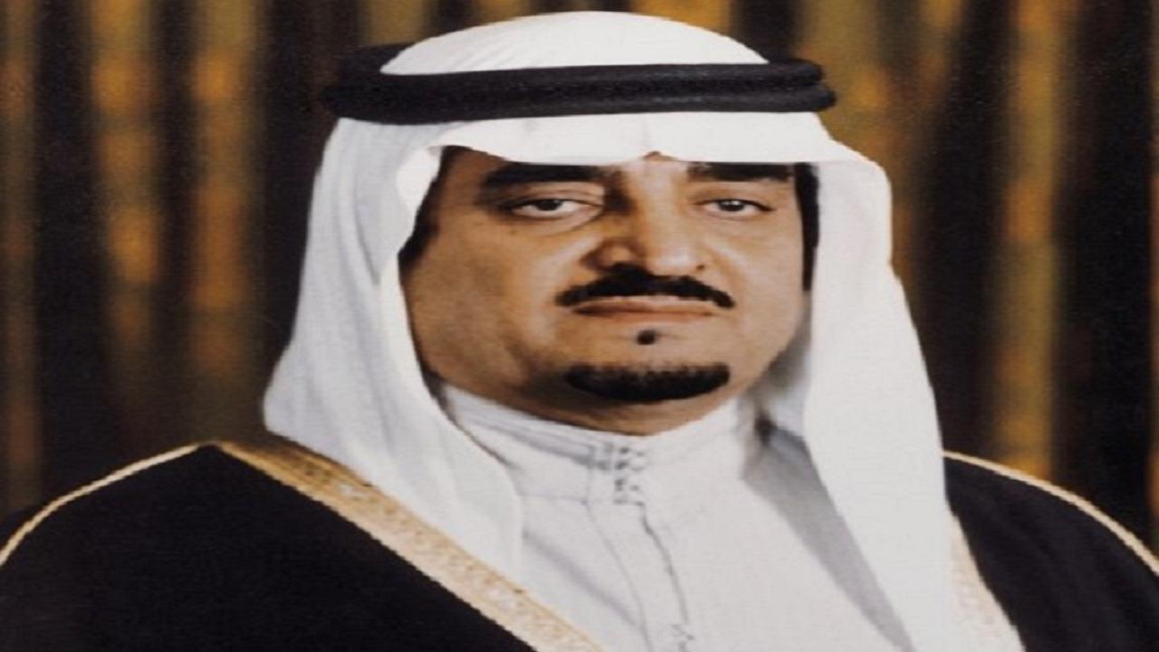 فيديو نادر للملك فهد خلال زيارته لأحد المرضى بعد استعادة بصره