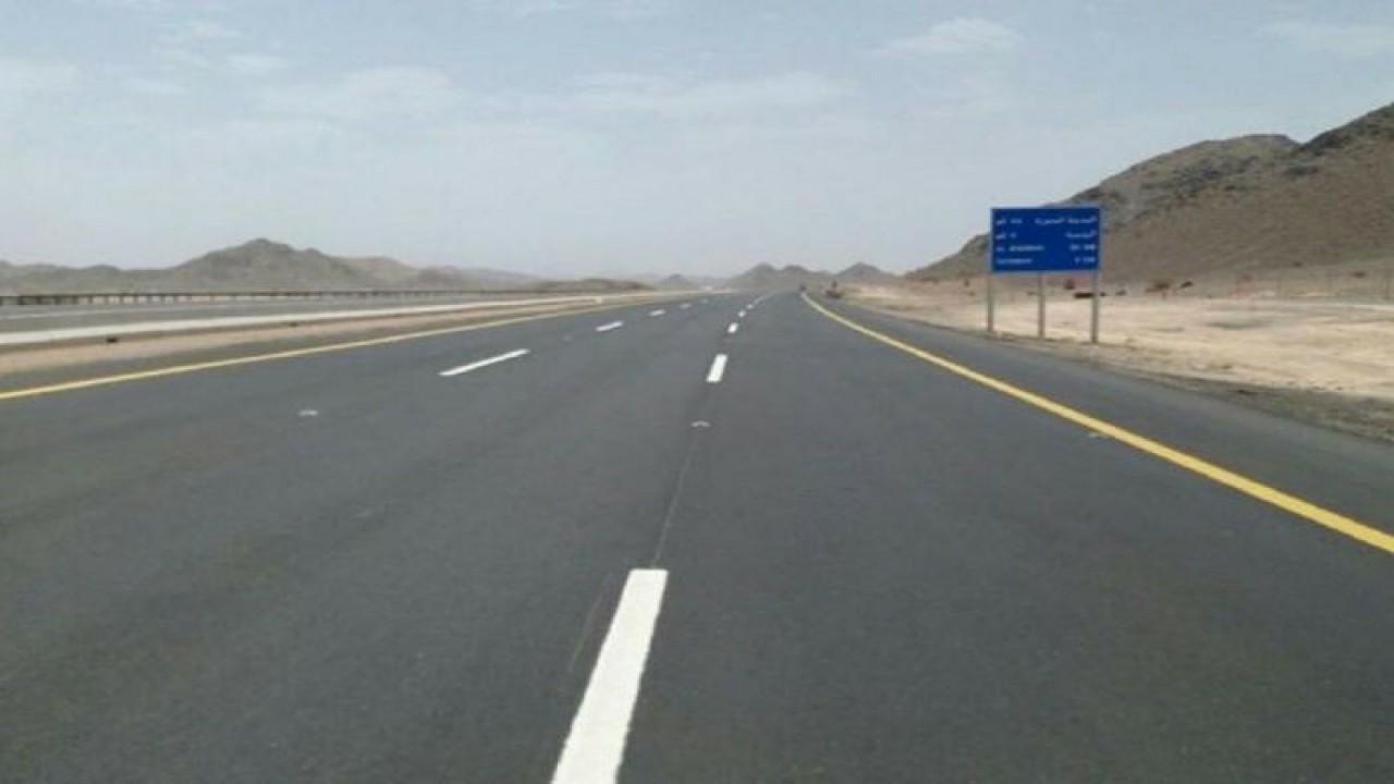 """النقل تحذر مستخدمي طريق """" المدينة المنورة_ مكة """" بسبب هطول أمطار"""