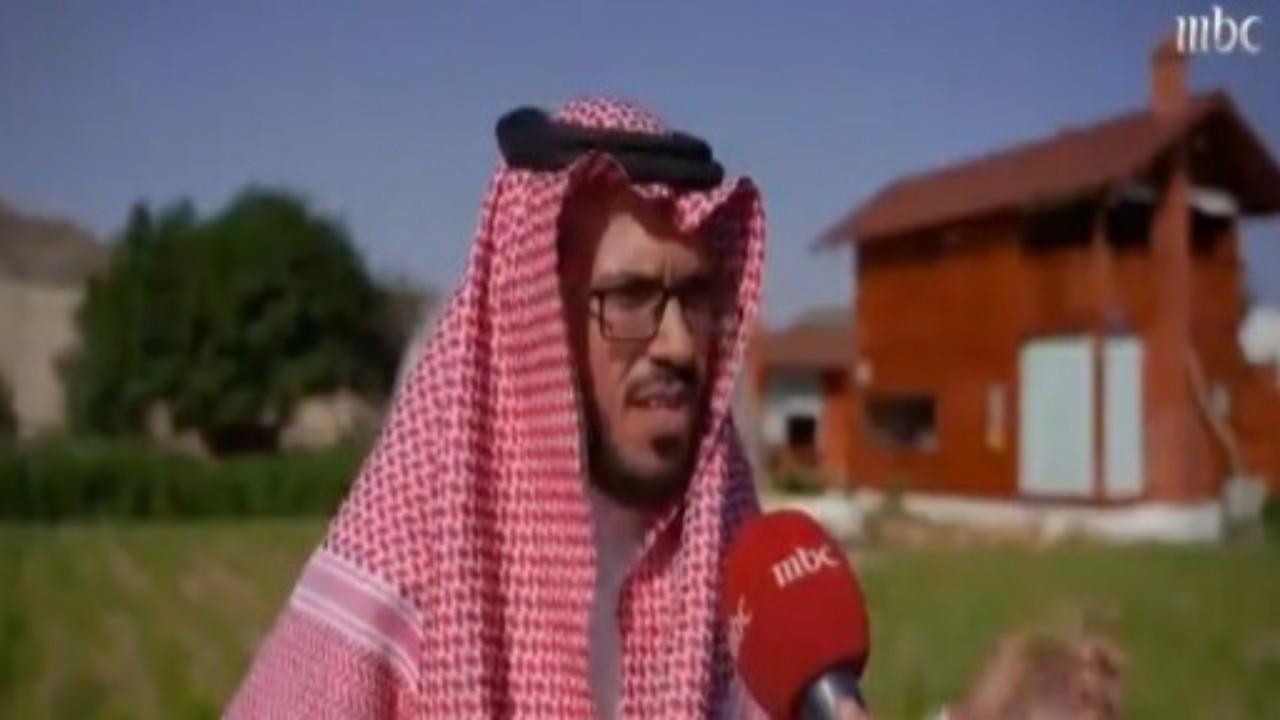 بالفيديو.. قصة ملهمة لمواطن حول مزرعته إلي منتجع ريفي في تنومة