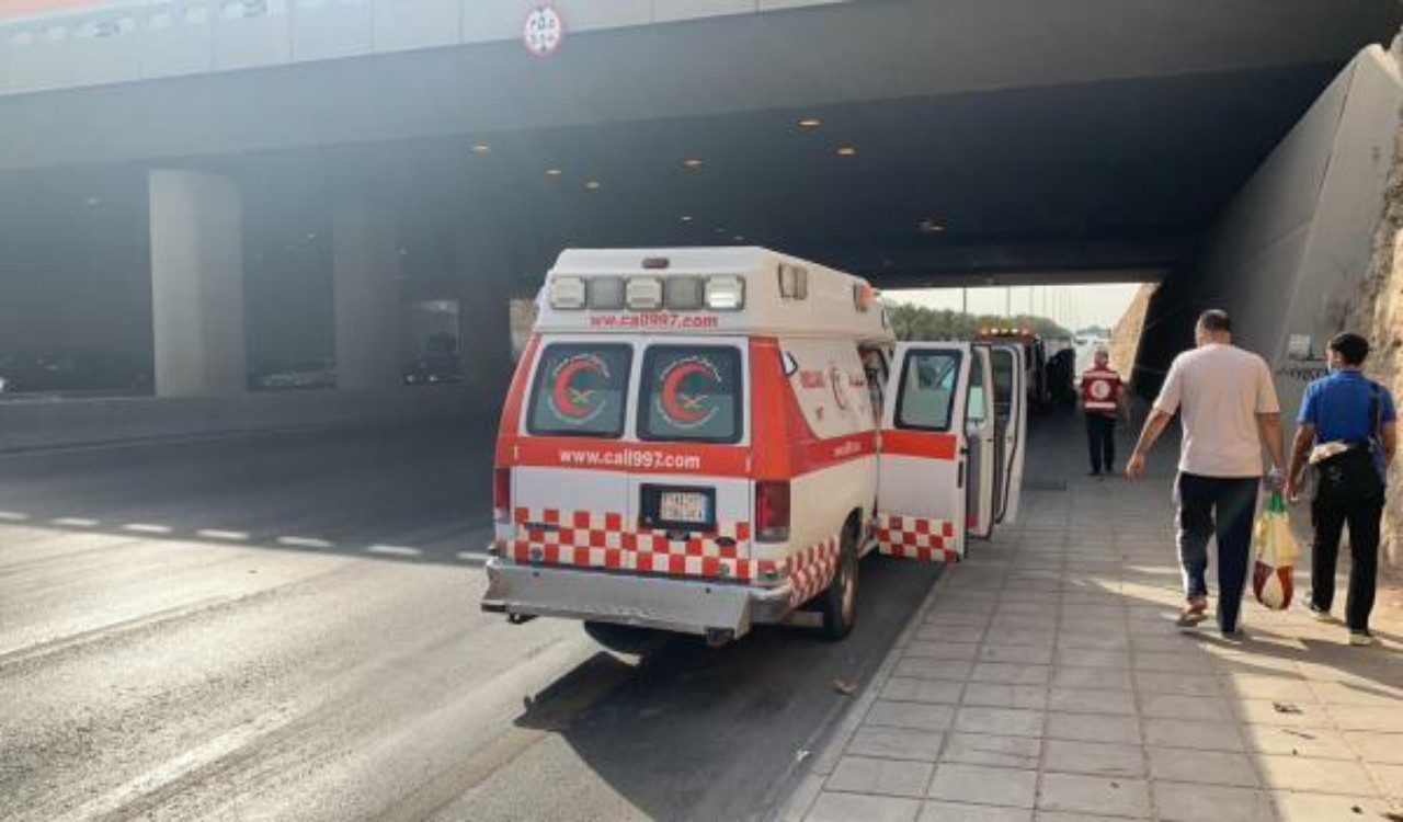 إصابة 12 شخصًا في حادث تصادم بالرياض