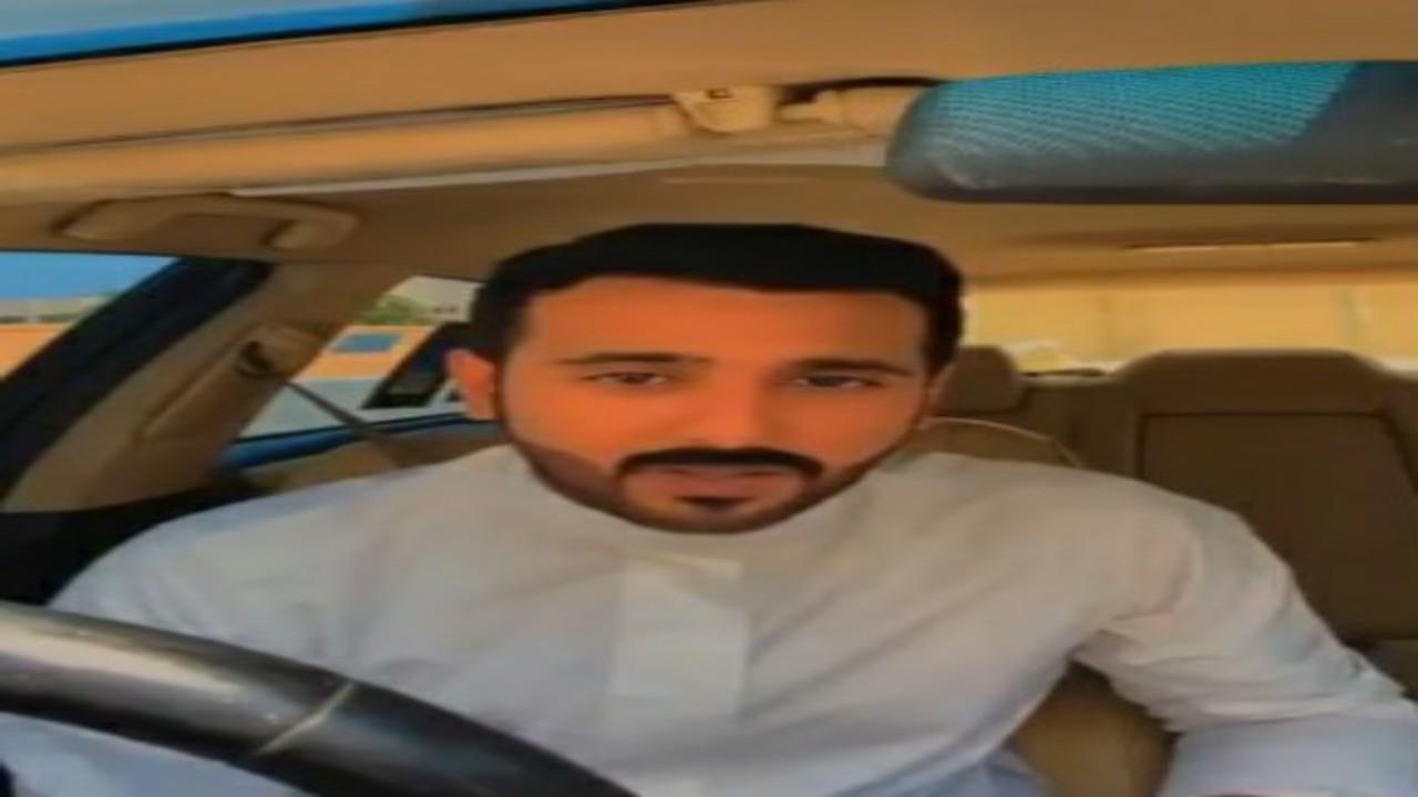 """شجاعة مواطن تنقذ عائلة كويتية من سرقة سيارتهم """"فيديو """""""