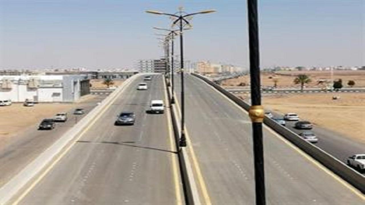 إغلاق جسر الثقبة بطريق الملك خالد لمدة 48 ساعة