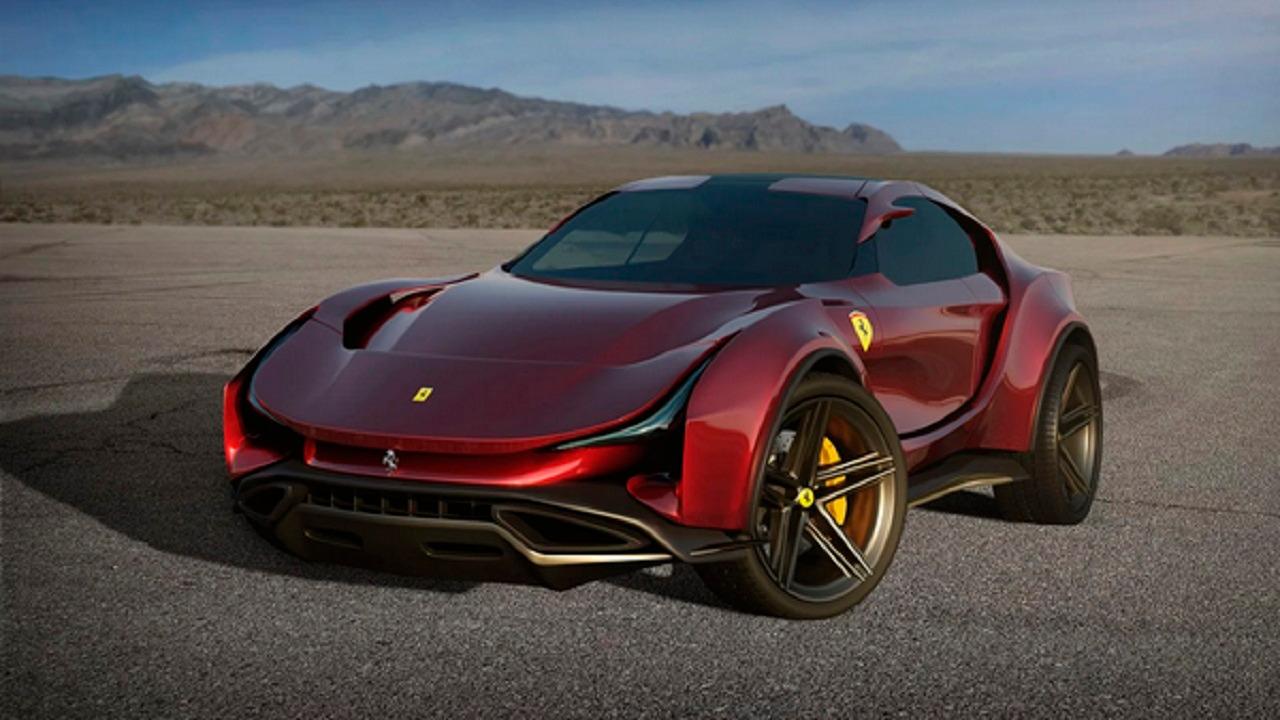 بالصور .. سيارة فيراري سموم الخارقة تحظى بتصميم الجديد