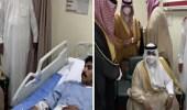 بالفيديو.. كلمات معبرة لأفعال بطولية من نائب أمير الرياض لرجل أمن مصاب