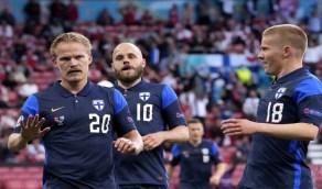 فنلندا تفوز على الدنمارك بهدف نظيف وتحقق أول 3 نقاط أوروبية