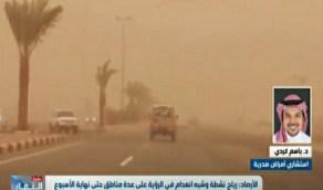 بالفيديو.. استشاري أمراض صدرية يوضح الاجراءات الوقائية الخاصة بالعواصف الرملية