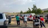 إصابة 8 أشخاص من عائلة واحدة على الطريق الدائري بالطائف