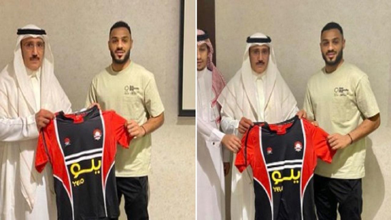 نادي الرائد يتعاقد رسميًا مع المدافع محمد سالم