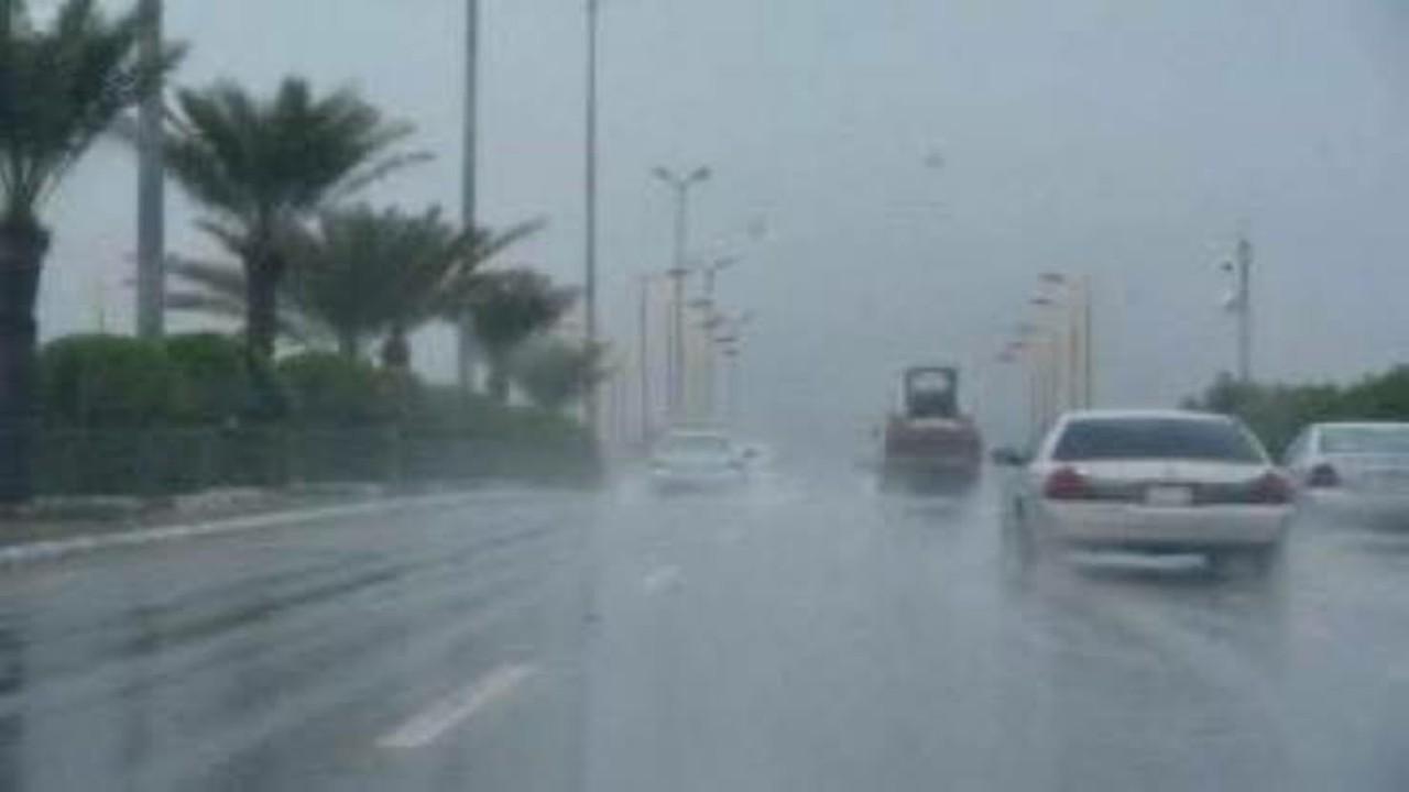 الأرصاد:هطول أمطار رعدية مصحوبة برياح نشطة على عدة مناطق