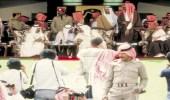 صورة نادرة للملك فهد والملك حمد بن عيسى في مهرجان الجنادرية قبل 34 عام
