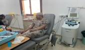حرس الحدود بتبوك تشارك في فعاليات اليوم العالمي للمتبرعين بالدم