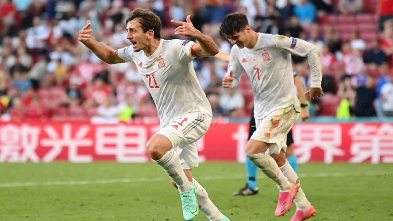 إسبانيا تحقق الفوز على كرواتيا وتتأهل إلى ربع النهائي
