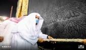بالصور.. رفع كسوة الكعبة المشرفة استعدادًا لموسم الحج 1442هـ