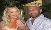 رياض محرز يدفع الملايين لخطبة عارضة أزياء