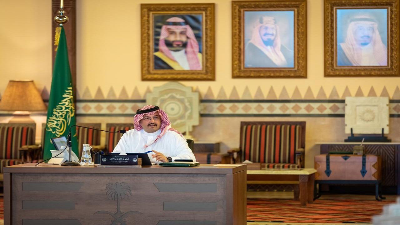 الأمير تركي بن طلال يرأس اجتماع مجلس عسير في دورته العادية للعام المالي الحالي