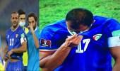فيديو.. بكاء قائد المنتخب الكويتي بعد الخروج من تصفيات كأس العالم