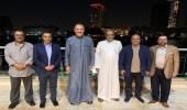 صور.. سفير المملكة لدى القاهرة يستضيف رابح صقر والفراج في منزله على ضفاف النيل