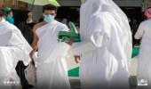 «شؤون الحرمين» توزع 3000 مظلة على المعتمرين