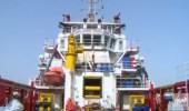لقطات لسفينة مكافحة الانسكابات الزيتية التي وصلت إلى جدة