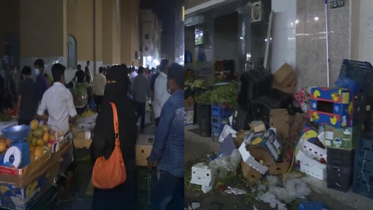 أمانة الرياض تغلق عددا من المحلات في حي البطحاء