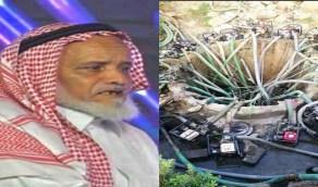 وفاة حيان المالكي صاحب البئر الشهير الذي يسقي أهالي الداير
