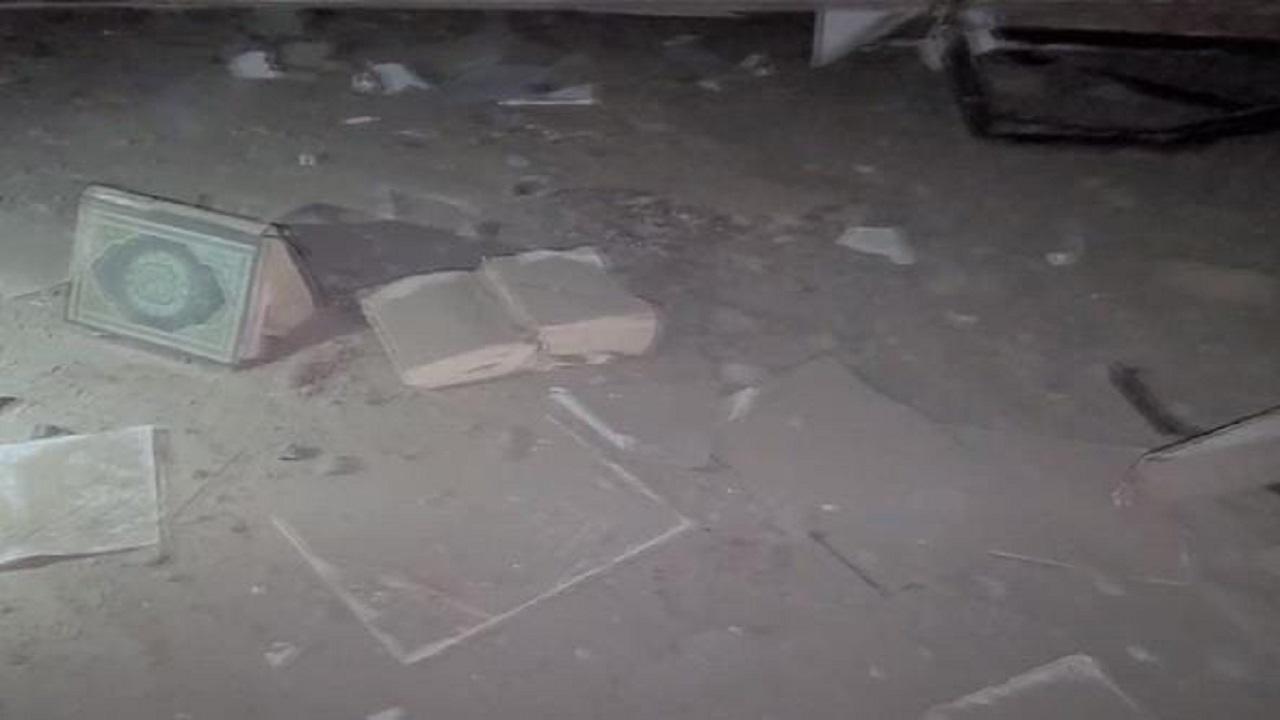 بالفيديو.. المشاهد الأولية للهجوم الحوثي على مسجد وسجن بمأرب