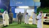 المركز التوجيهي بفرع الأمر بالمعروف بالباحة يستقبل مدير شرطة المنطقة