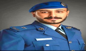 """تخرّج """" القرني """" برتبة ملازم في القوات الجوية"""