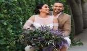 محمد فراج وبسنت شوقي يحتفلان بزفافهما على طريقة عبدالحليم وشادية