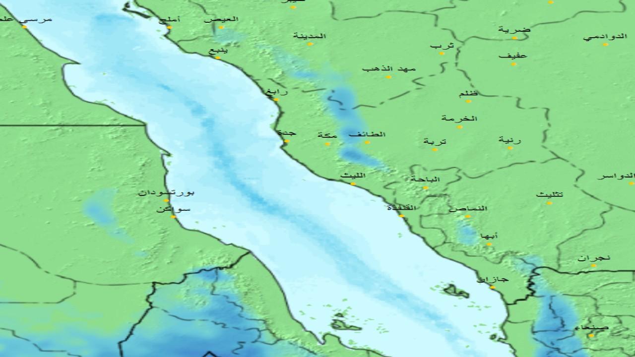 «الحصيني»: هطول أمطار على مرتفعات 4 مناطق