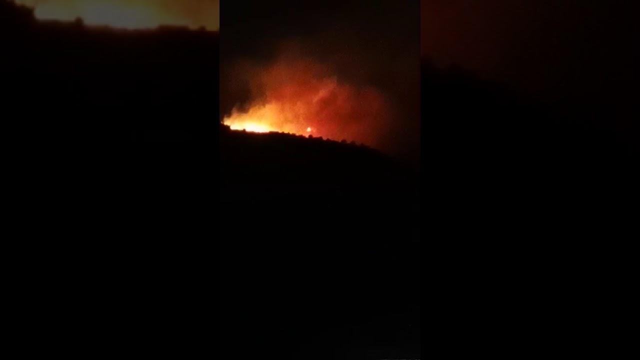 بالفيديو.. اندلاع حريق جديد في غابات النماص