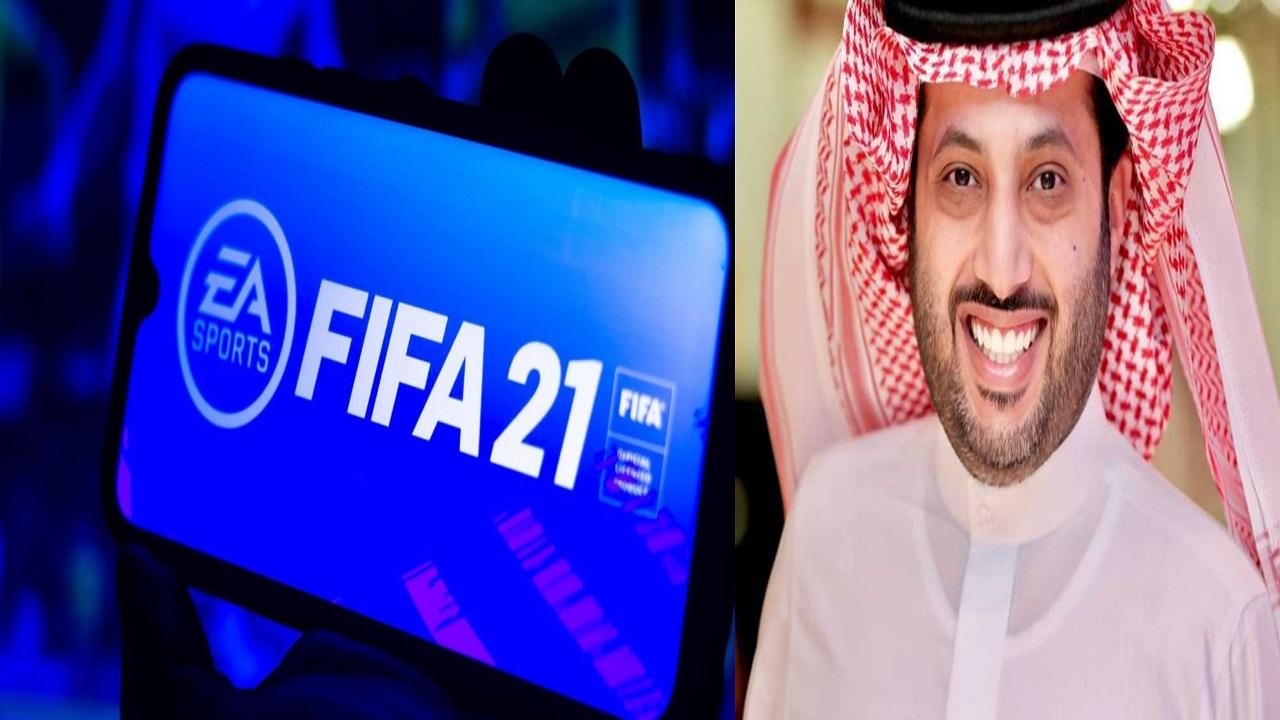 """تركي آل الشيخ يطلق 16 بطولة """"فيفا 21"""" بمشاركة مشاهير العرب"""