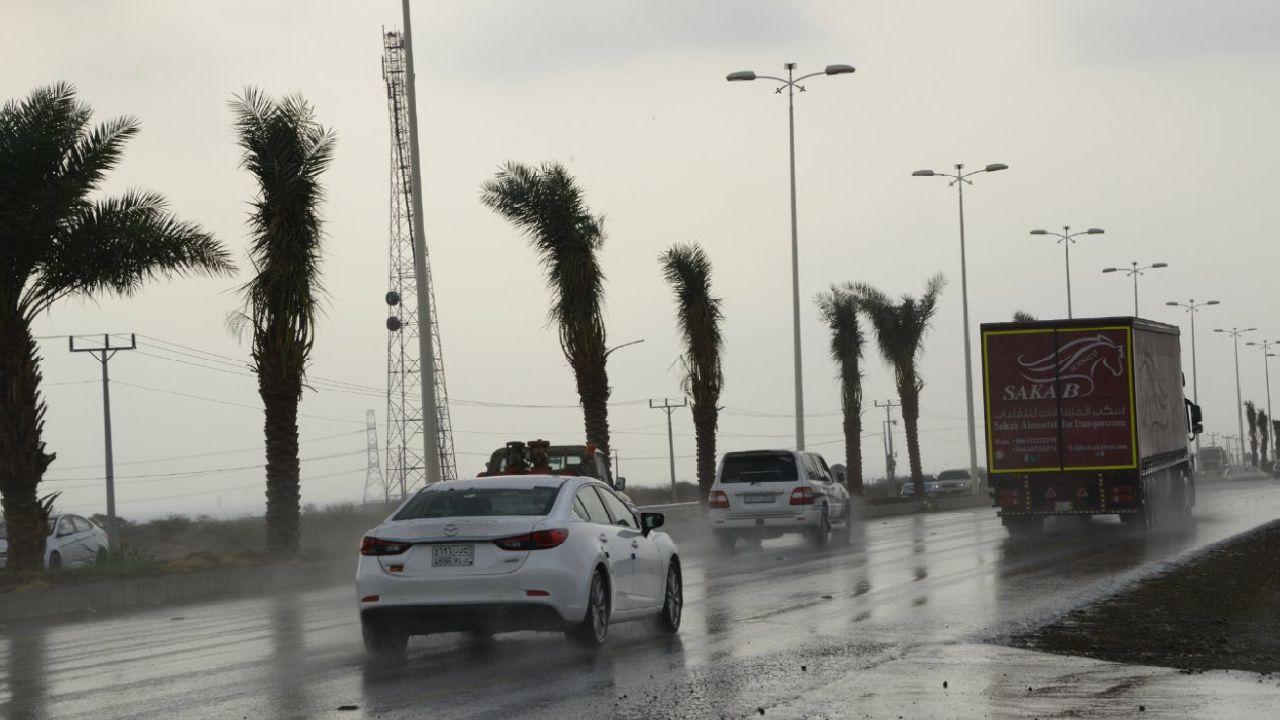 الأرصاد: أمطار رعدية على جازان