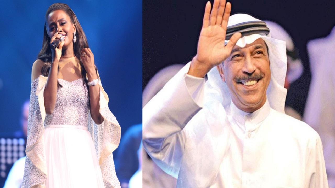 عبدالله الرويشد وداليا مبارك يحييان حفلا بالرياض