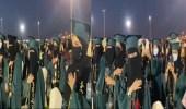 فيديو..طالبات كلية الطب بجامعة تبوك يؤدين القسم في حفل تخرجهن