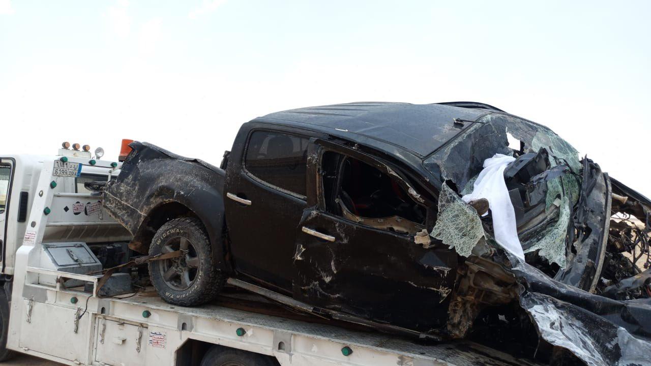 صور..وفاة 9 أشخاص في حادث مروع بحوطة بني تميم