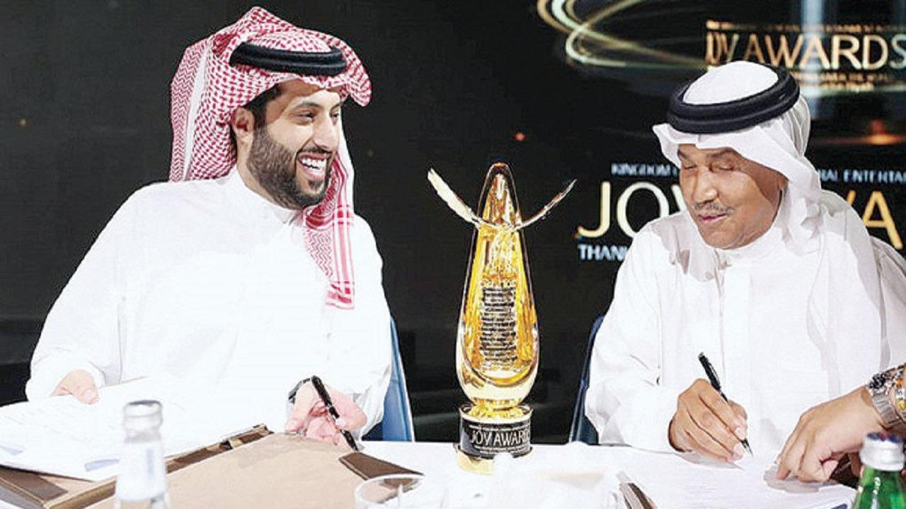 تركي آل الشيخ: محمد عبده صوته حتى وهو يتكلم مزيكا