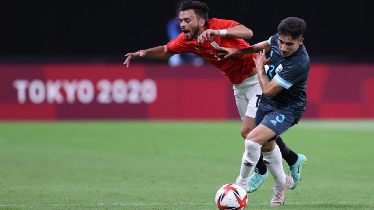 منتخب مصر الأولمبي يسقط أمام الأرجنتين بهدف