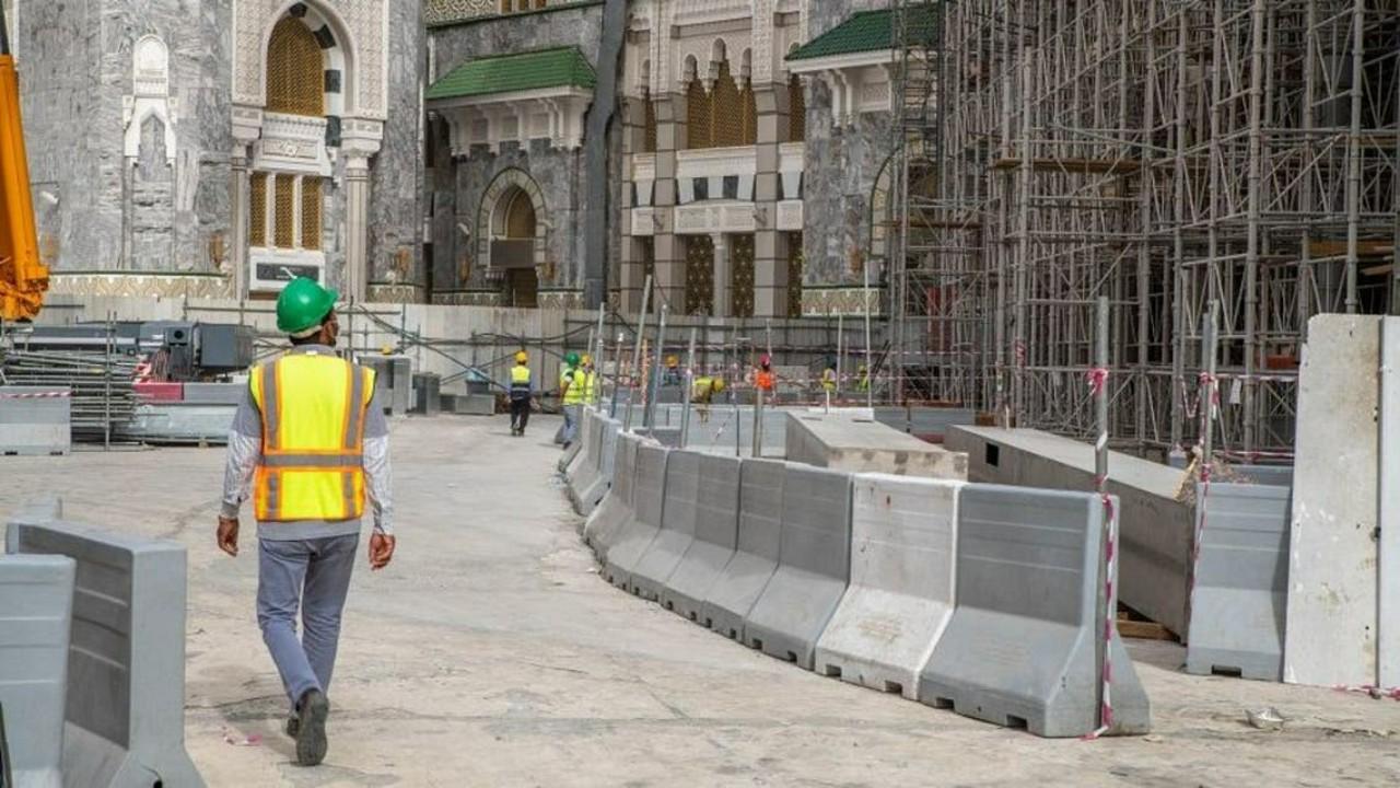 شؤون الحرمين تستأنف التوسعة الثالثة بالمسجد الحرام